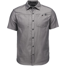 Black Diamond Solution SS Shirt Herr black-ash